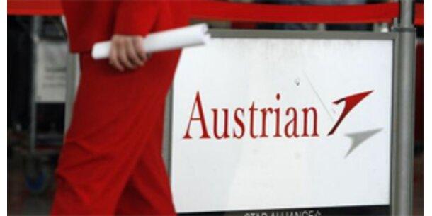 AUA-Passagierzahl sank im Jänner um 13,0 Prozent