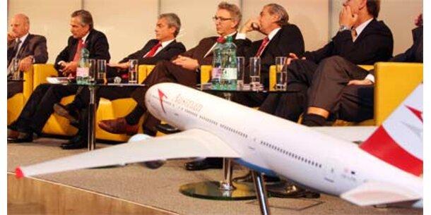 Lufthansa übernimmt 85,1% der AUA-Aktien