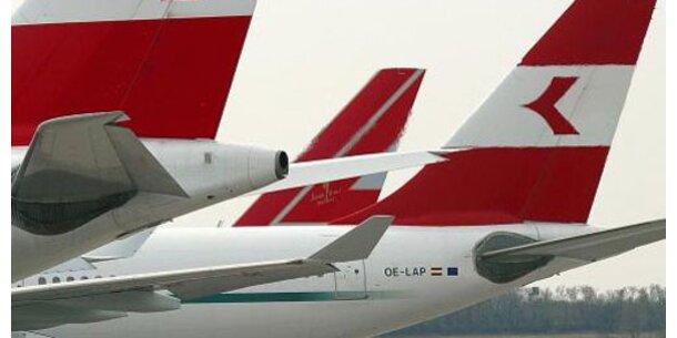 AUA-Flüge werden um 2 bis 5 Euro teurer