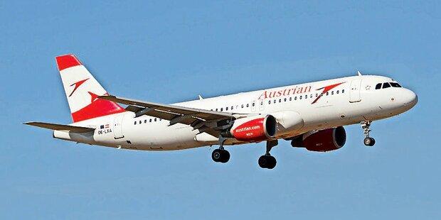 AUA streicht alle China-Flüge bis Ende März