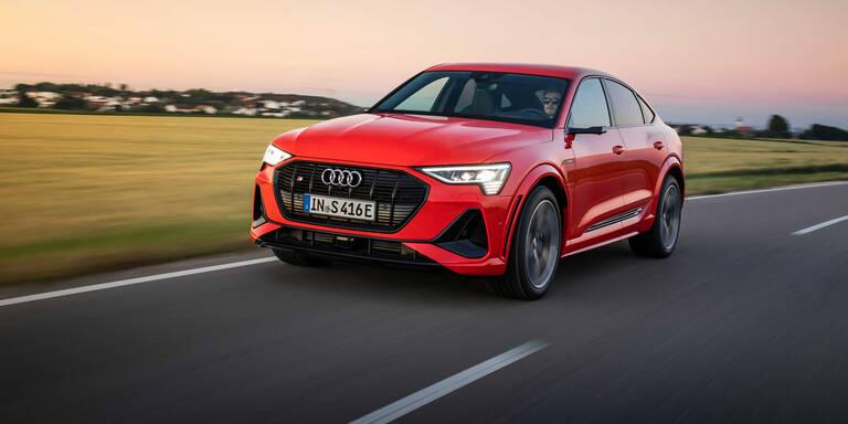 Audi greift mit dem e-tron S (Sportback) an