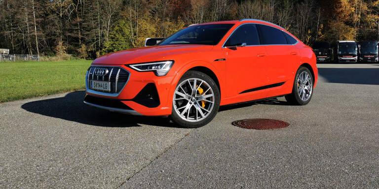 Audi verbessert den e-tron (Sportback)
