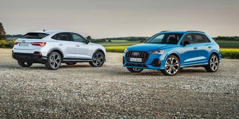 Audi Q3 (Sportback) startet als Plug-in-Hybrid