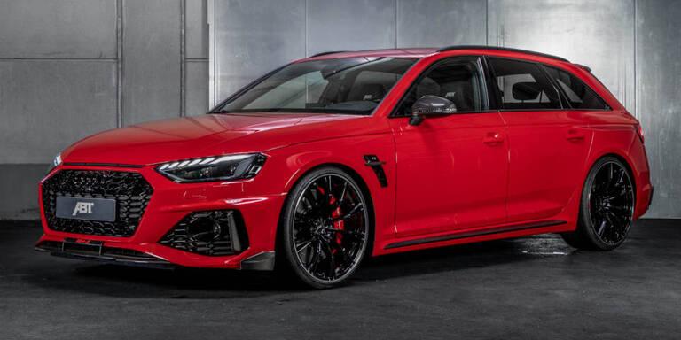 Audi RS4 mit 530 PS schafft 300 km/h