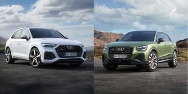 Audi frischt den SQ2 und den SQ5 auf