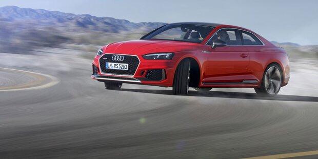 Audi greift mit dem neuen RS5 Coupé an