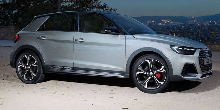 Audi A1 citycarver startet als