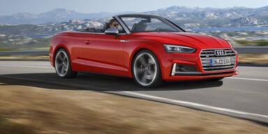 Das ist das neue Audi A5/S5 Cabrio