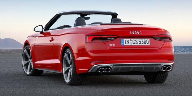 So fährt sich das neue Audi A5/S5 Cabrio