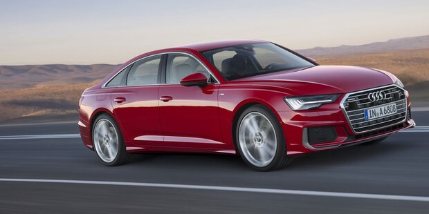 Das ist der völlig neue Audi A6