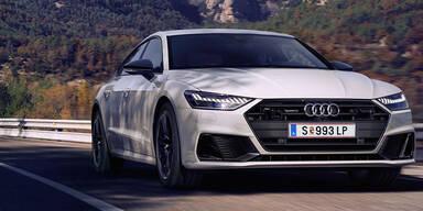 Audi greift mit dem A7 55 TFSI e quattro an