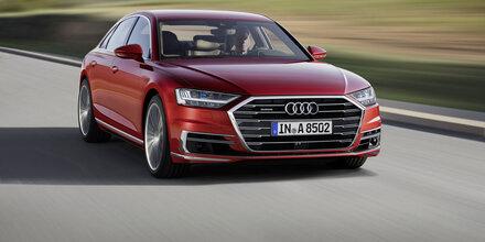 Alle Infos vom völlig neuen Audi A8