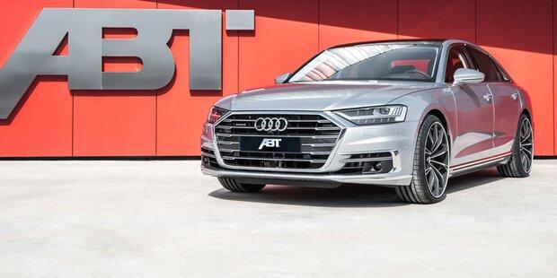 Leistungskur für den neuen Audi A8