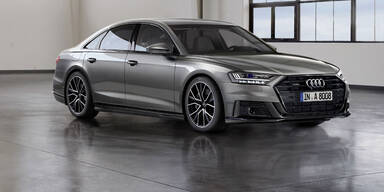 Audi rüstet den A8 technisch auf