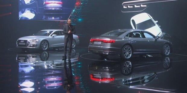 Audi stellt den neuen A8 vor