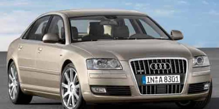 Neuer Audi A8 mit sparsamem Motor
