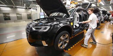 Audi drückt bei Produktion auf die Bremse