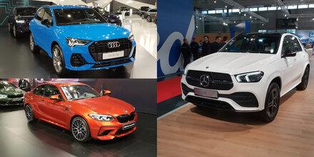 Mercedes auch 2018 vor BMW und Audi