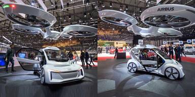 Audi zeigt fliegende Robo-Auto-Drohne