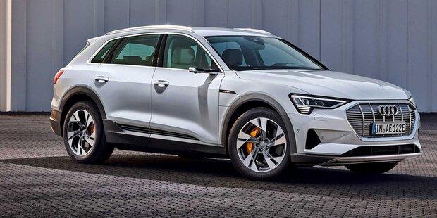 Audi e-tron: Mehr Reichweite & neues Einstiegsmodell