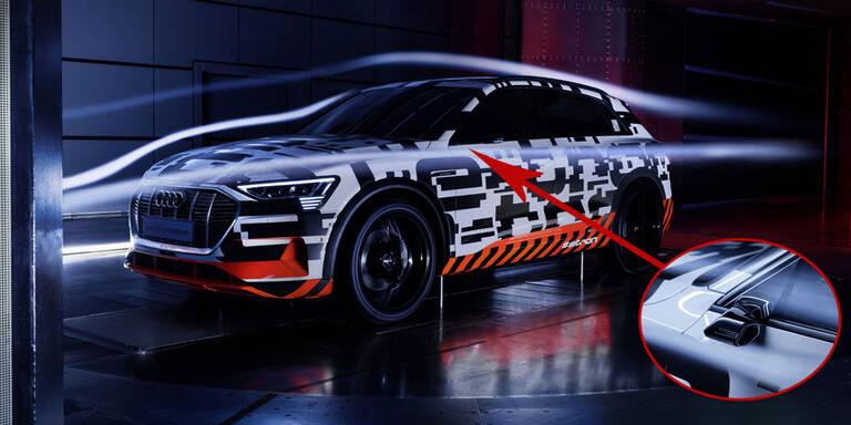 Audi e-tron ist 1. Auto ohne Außenspiegel