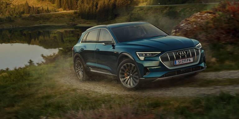 Audis Elektro-SUV startet in zwei Varianten
