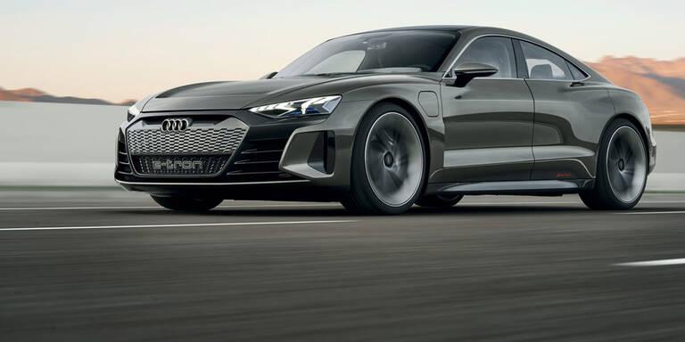 Audi e-tron GT wird ein