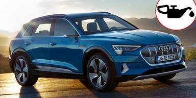 Audis Elektro-SUV bittet Fahrer zum Ölwechsel