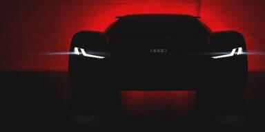Audi zeigt einen Elektro-Supersportwagen
