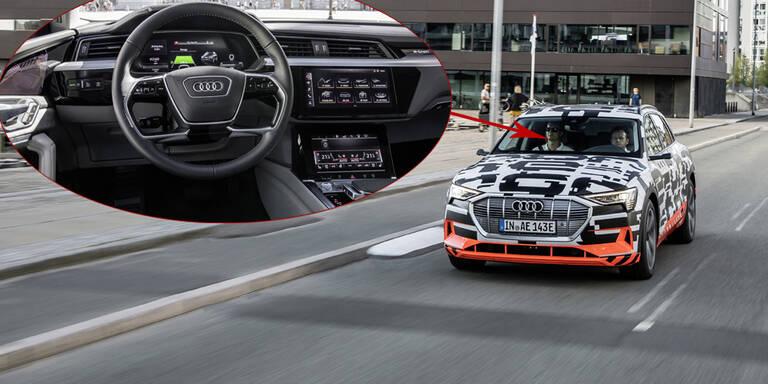 Audi zeigt das Cockpit seines Elektro-SUVs