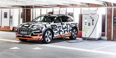 Produktionsstart für Audis Elektro-SUV