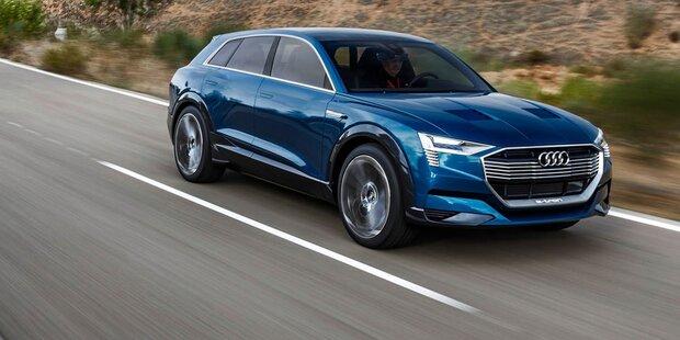 Audis Elektro-SUV ist ab sofort vorbestellbar