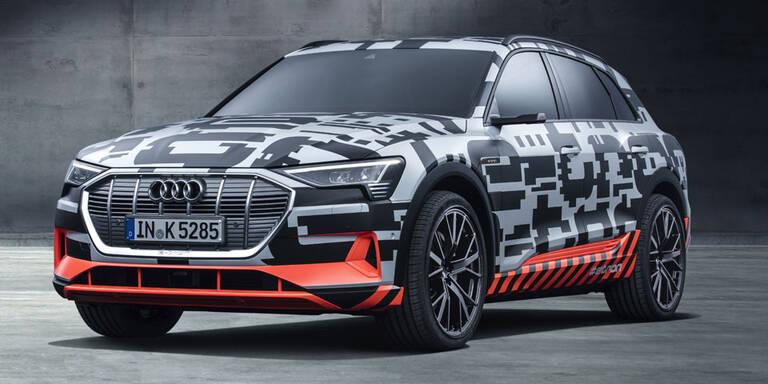 Audi e-tron kommt aus CO2-neutralem Werk
