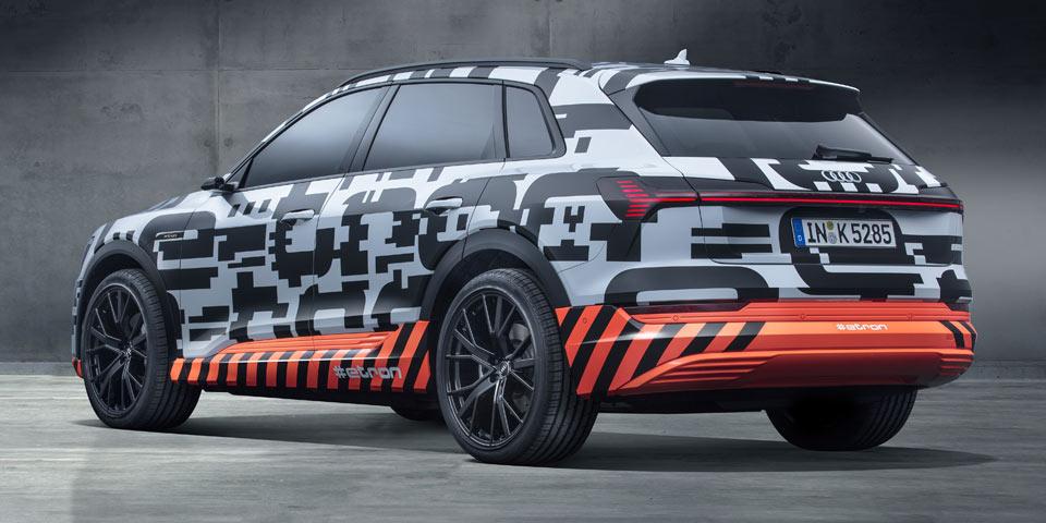 Audi e-tron-Prototyp: So sollen die vier Ringe elektrisch fahren