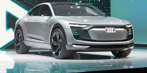 Audi baut seine Elektroautos weltweit