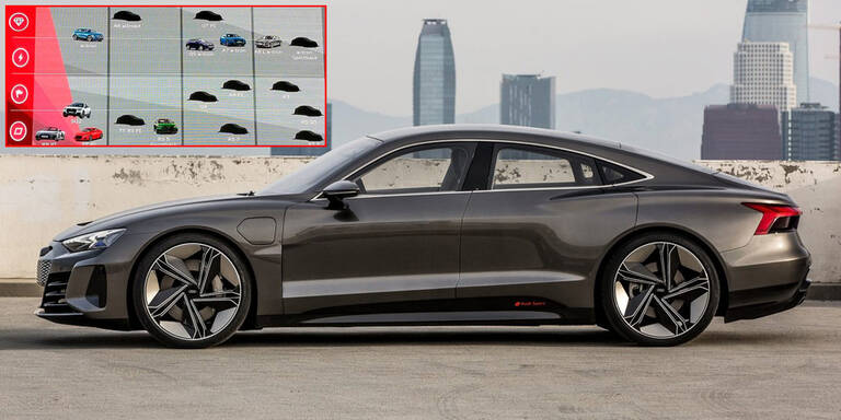 Geheimer Modellplan von Audi aufgetaucht