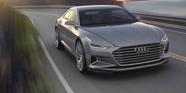 Neuer Audi A8 steht stets unter Strom