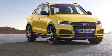 Audi wertet den Q3 noch einmal auf