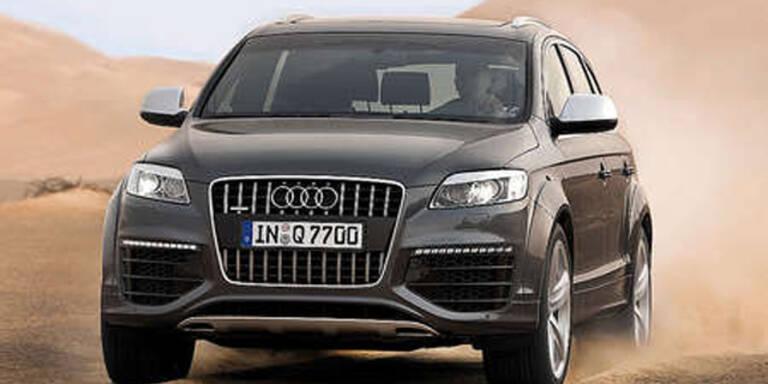 Audi Q7 3.0 TDI mit sauberem Diesel