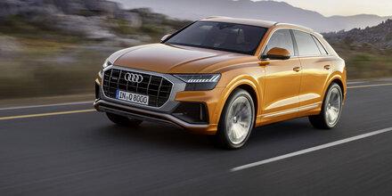Alle Infos vom völlig neuen Audi Q8