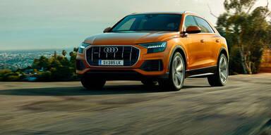 Jetzt startet der neue Audi Q8