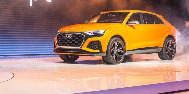 Audi zeigt den brandneuen Q8