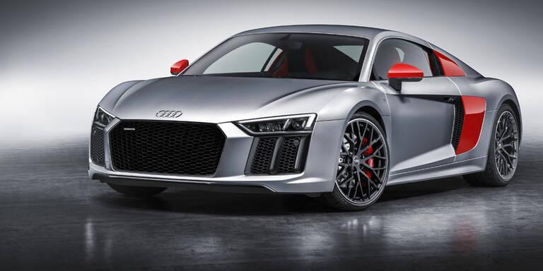 Audi R8 Coupé als cooles Sondermodell