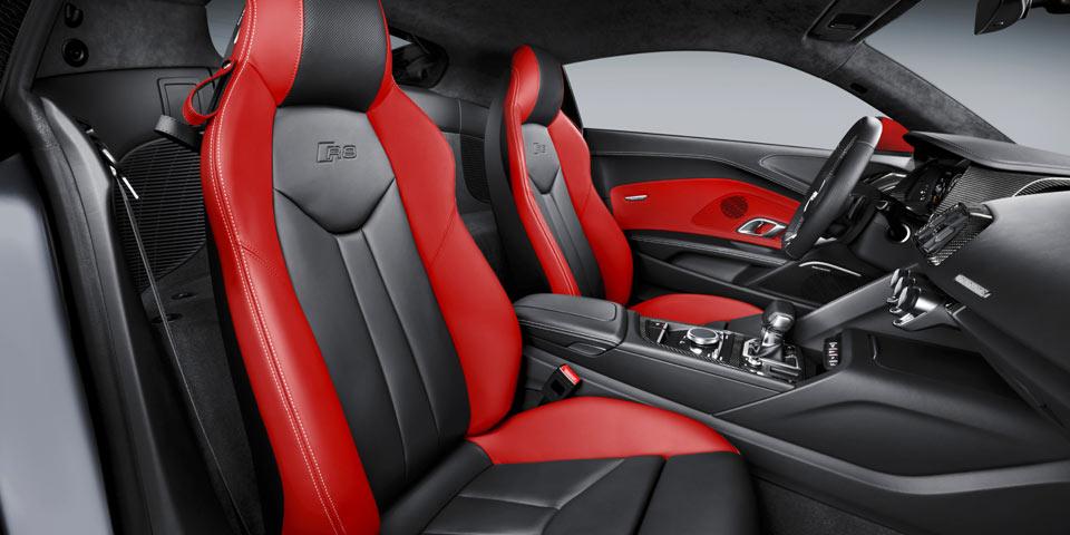 Selten und bunt: Audi R8 als