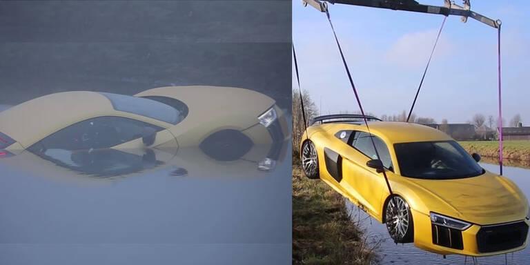 Deutscher versenkt 250.000-Euro-Audi