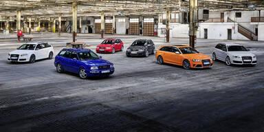 2019 kommen noch 7 neue Audi RS-Modelle