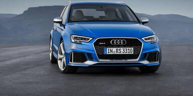 """Neuer"" Audi RS3 Sportback leistet 400 PS"