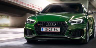 Neuer RS5 Sportback startet in Österreich