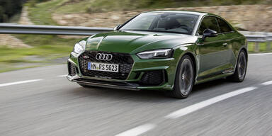 Neues Audi RS5 Coupé im Test