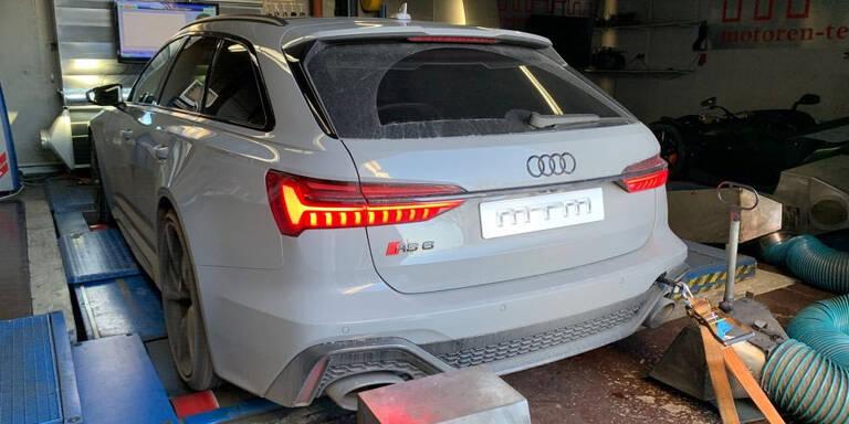 Neuer Audi RS6 mit fast 800 PS